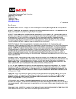 AIDWATCH submission to Senate Committee Inquiry – Trade and Foreign Investment Bill 2014