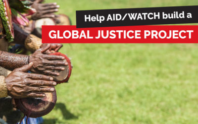 Will you Donate to our Global Justice Project?