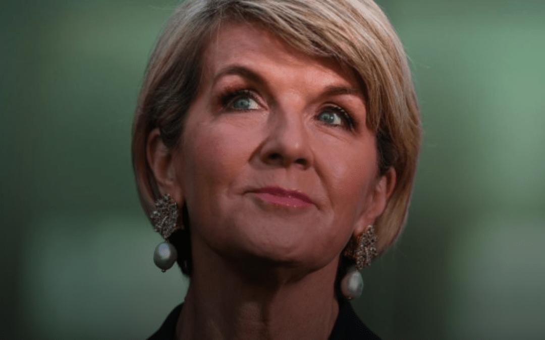 Julie Bishop accused of breaching standards with new aid job