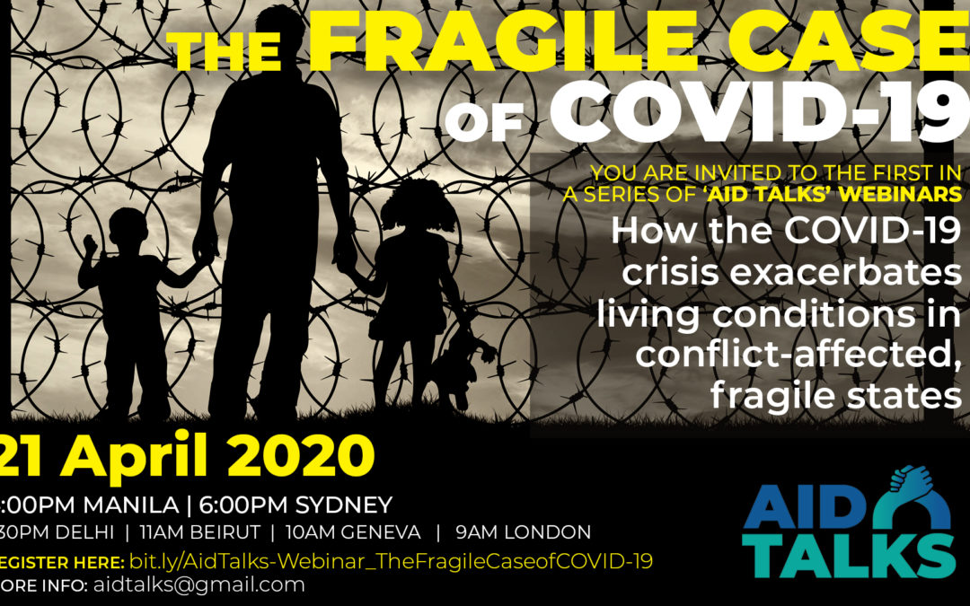 AID TALKS Webinar | The Fragile Case of COVID 19