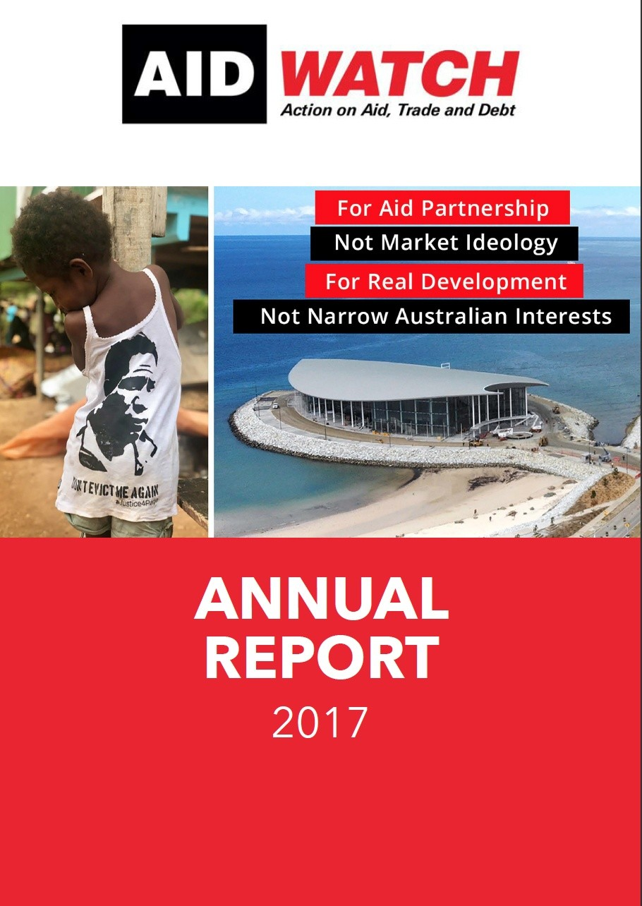 Aid/Watch Annual Report 2017